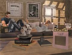 At Home With The Blanco's (ᗷOOᑎᕮ ᗷᒪᗩᑎᑕO) Tags: sl secondlife serenitystyle furniture home living virtual world eventsgacha retro radio headphone blackbantam mesh 2018 flickr flickrs soul2soul blancos