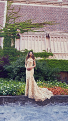 (Wendy Lu.) Tags: select wendylu canon5d beautiful fantasy surreal portrait misswashington 2017 missusa castle cathedral gothic building asian long hair dreamy pageant princess gown staircase standing