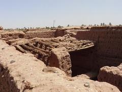 Kasbah M'Hamid (6) (François Magne) Tags: maroc mhamid kasbah désert village