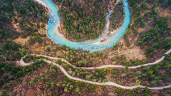 Aerial view of Sava river (Dreamy Pixel) Tags: above aerial background basin beautiful beauty blue drone environment environmental forest green greenery lake landmark landscape national natural nature outdoor river sava scenery slovenia stream summer top travel tree valley view water wetlands white breg jesenice si ngc