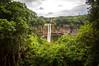 Chamarel Waterfall (sebileiste) Tags: mauritius chamarel waterfall nikon d90 sigma 1020 rain forest water wasserfall cascade long exposure national park