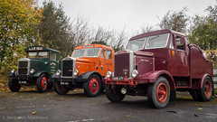 S.O.D.E.M Road Run 2017 (Ben Matthews1992) Tags: sodem road run 2017 autumn gloucestershire england britain old vintage classic historic preserved preservation vehicle transport sl9958 hdw386 hdw471 scammell chain drive highwayman
