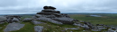 The Top of Rough Tor (Marit Buelens) Tags: granite outcrop rockpile panorama bodminmoor walking hiking stannonclayworks cornwall england top hill fz200