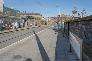 LUAS TRAM STOP AT COLLINS BARRACKS [RED LINE MUSEUM STOP]-138718