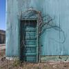 lucky door (ffoster) Tags: milton kentucky door vines warehouse colorphotography fujigfw50s frankfoster rural