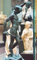 Benvenuto Cellini (1500-1571) - Model for Perseus and the Head of Medusa (c1545-54), painted plaster replica, Victoria and Albert Museum, London, April 2018, right (ketrin1407) Tags: cellini perseus medusa mythology renaissance italy florence preliminary victoriaandalbertmuseum va sensual erotic
