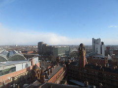 Sunny Manchester (TheTransitCamera) Tags: manchester england uk unitedkingdom city urban citycentre transportation transport travel transit