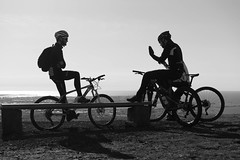DSC04556 (Guðmundur Róbert) Tags: iceland moutain biking mtb bikes mountain hjól reiðhjól hjóla cycling mountains sky blue sony a7ii kit lens landscape intense cube 29er downhill uphill view island ísland black white
