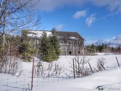 180228-21 Grange de la Beauce (clamato39) Tags: grange barn beauce provincedequébec québec canada ciel sky clouds nuages hiver winter snow neige rural
