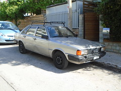 1984 Audi 80 (Alpus) Tags: rare cars athens greece october 2016 classic retro eighties german