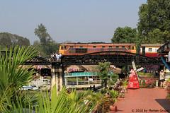 I_B_IMG_8886 (florian_grupp) Tags: southeast asia thailand siam thai train railway railroad srt staterailwayofthailand metregauge metergauge kanchanaburi deathrailway riverkwai japan ww2 bridge riverkwaibridge famous