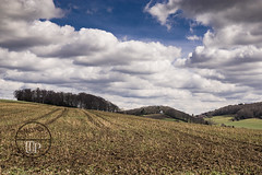 Landscape, sky and clouds (Sony_Fan) Tags: 2018sigma28artsonyalpha6000 30mm landscape nature clouds sky blue fields forest northrhinewestphalia germany outdoor elfringhauser schweiz sprockhövel hiking thomas umbach schwelm photographer