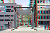 Wijnhavenbrug Rotterdam 3D (wim hoppenbrouwers) Tags: wijnhavenbrug rotterdam 3d anaglyph stereo redcyan brug wijnhaven