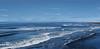 Black Sand Beach Adjacent to Landeyjahöfn 2 (wyojones) Tags: iceland landeyjahöfn beack blacksand volcanic basalt waves vestmannaryjar house solitary solitude lonely atlanticocean sea ocean southiceland