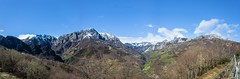 National Park Ubinas. (luisfcpires) Tags: mountain range hiking hill hiker snowcapped hillside peak pole scenery valley rolling landscape snow green nature photograph national park blue clouds ngc
