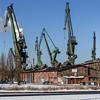 Shipyard (Maciej Dusiciel) Tags: architecture architectural industry industrial city urban travel polska poland gdańsk gdansk factory shipyard building sony alpha samyang