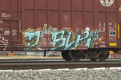 Duble (Psychedelic Wardad) Tags: freight graffiti rtd rh duble