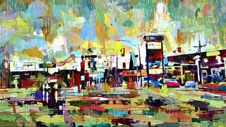 the watercolor rain