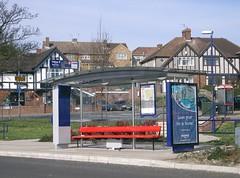 Fastrack-Dartford-BrentLane-CIMG6563 (citytransportinfo) Tags: fastrack kent busway busstop shelter brt busrapidtransit busrapidtransport brentlane