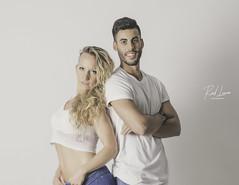 noe eta asier (Raul Piki Bolukua) Tags: retrato portrait lovecouple couple dancer bachata teachers love music dance indoor rehearsalroom fashion models matte soft