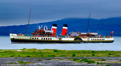 Scotland Greenock the paddle steamer Waverley 18 April 2018 by Anne MacKay (Anne MacKay images of interest & wonder) Tags: scotland greenock paddle steamer waverley xs1 18 april 2018 picture by anne mackay