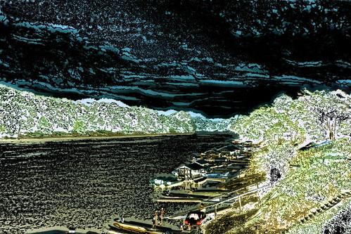 Borneo - Rajang River - Kapit Jetty - 1ee