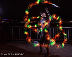 Open Flow Shoot 4/20/18 (Chris Blakeley) Tags: flow flowarts led longexposure seattle poi
