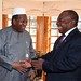 President Cyril Ramaphosa receives courtesy call from former President of Mali Alpha Oumar Konaré
