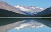 Brazeau Lake (jtr27) Tags: dsc06531le brazeau jasper national park alberta canada hike hiking backpack backpacking glacier reflection canadianrockies water sky lake trees forest snow ice