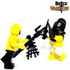 BrickWarriors (BrickWarriors - Ryan) Tags: brickwarriors lego ancient custom minifigure minifig retiarius trident dagger secutor gladiator gladiatrix