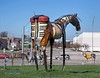 Horse Art_06 (MO FunGuy) Tags: horse art metalsculpture missouri