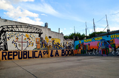 Buenos Aires (makingacross) Tags: buenos aires argentina buenosaires city la boca laboca barrio colour colourful basketball community nikon d3000
