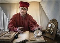 The optics maker (Darwinsgift) Tags: optics glasses history medaeval wrest park st georges festival f28 english heritage voigtlander 28mm colorskopar sl ii