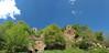 the castle and the sky (filippo rome) Tags: monterano anticamonterano lazio italy italia ruins rovine sky ancientvillage trees nature natura colors colori architettura