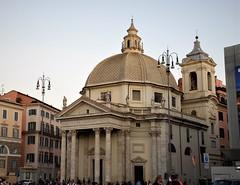 Basílica de Santa María de Montesanto (Roma, Italia, 13-10-2017) (Juanje Orío) Tags: 2017 roma rome italy italia patrimoniodelahumanidad worldheritage basílica iglesia church templo