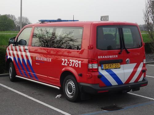 """2013 Volkswagen Transporter """"Brandweer"""""""