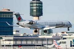 CYVR - Air Canada Express Canadair CRJ-705 C-FTJZ (CKwok Photography) Tags: yvr cyvr aircanadaexpress canadaircrj705 cftjz
