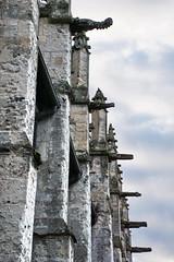 St. Michael's church (Yuri Rapoport) Tags: church stmichaelschurch 2015 pontlévêque normandy france gargoyle