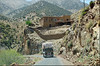 a Atlas Mountains road (mhobl) Tags: highatlas moroc marocco truck road lastwagen gebirge nordafrika spring