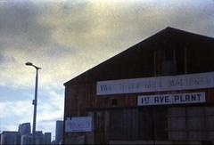rusty hanger II (Beaulawrence) Tags: film filmphotography analog slidefilm developedathome homedarkroom unicolor unicolour e6slide retrochrome eastman kodak vancouver diy pentax pointshoot cheapcamera