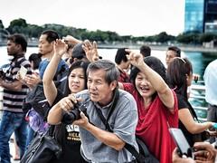 Merlion Park Series (-Faisal Aljunied - !!) Tags: em5 olympus streetphotography singapore merlionpark faisalaljunied