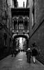 DSCF1628 (Enrique Jiménez Montes) Tags: bisbe barcelona gothic barrio gótico españa blanco y negro bw bn