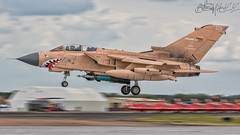 Royal Air Force BAe Panavia Tornado GR.4T ZG750 (benji1867) Tags: royal air force bae panavia tornado gr4t zg750 gulf war pinky operation granby op riat riat2017 17 international tattoo raf fairford jet fighter strike aircraft bomber landing avgeek avporn aviation fly flight flying canon 7d2 airshow show display demo raf100 100 marham norfolk