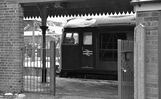 Loco D5343 (26043) resting at East Dereham in between turns. Mid Norfolk Railway Spring Diesel Gala. 18 03 2018