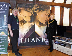 Titanic Exhibition (Essex Explorer) Tags: p1040650 titanic mikedavies carolpavelin titanicexhibition rayleightownmuseum rayleigh essex