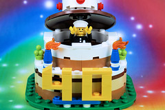 Happy 40th Birthday to an Awesome Minifig!!! (Lesgo LEGO Foto!) Tags: lego minifig minifigs minifigure minifigures collectible collectable legophotography omg toy toys legography fun love cute coolminifig collectibleminifigures collectableminifigure series18 birthday party birthdayparty cake birthdaycake birthdayboy boy classicpoliceofficer classicpolice policeconstable policeofficer police officer series 18 600policecar legocity 71021 lego71021 turns 40