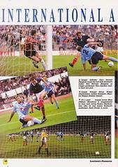 Scotland vs Romania - 1990 - Page 34 (The Sky Strikers) Tags: scotland romania rumania european championship qualifying match hampden park glasgow official souvenir matchday magazine two pounds