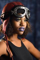 Brave (PVA_1964) Tags: nikon d850 model female woman girl studio africanamerican black blue mua samys samyscamera ann modelmayhem