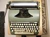 Old  Smith Corona Manuel Typewriter (neukomment) Tags: typewriter antique wordprocessor canonrebelt5i sigmalens oldstuff onceuponatime