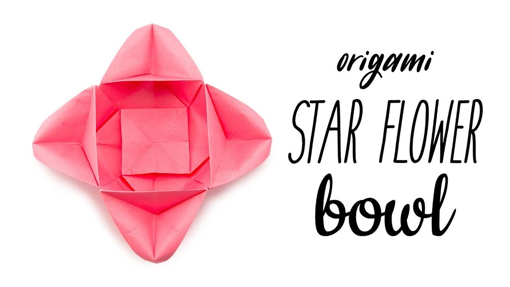 The worlds best photos of instructions and youtube flickr hive mind origami star flower bowl tutorial paper kawaii paperkawaii tags origami instructions paperkawaii mightylinksfo